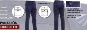 Pantalon Stretch Adeepi