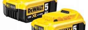 2+1 en baterias DEWALT
